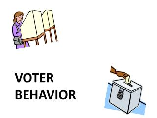 Voter  behavior