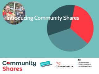 Introducing Community Shares