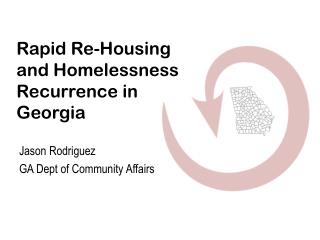 Rapid Re-Housing and Homelessness Recurrence in Georgia