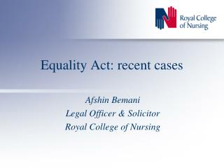 Equality Act: recent cases