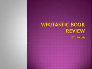Wikitastic  Book Review