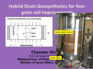 Hybrid Drain  Geosynthetics  for fine-grain soil improvements
