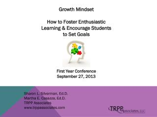Growth  Mindset How  to Foster Enthusiastic Learning & Encourage Students to Set  Goals