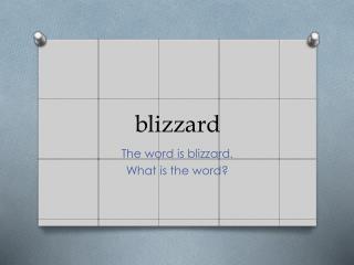 b lizzard