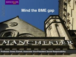 Mind the BME gap