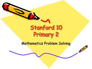 Stanford 10 Primary 2