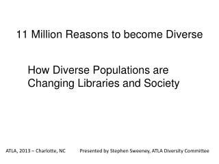 11 Million Reasons to become Diverse