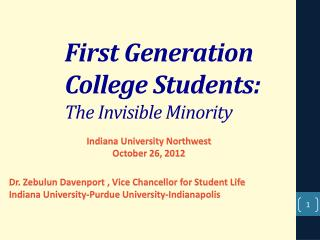 essay first generation college student