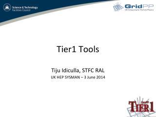 Tier1 Tools