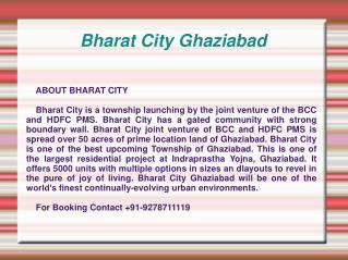 BCC Bharat City,Bharat City Ghaziabad,Bharat City Indraprast