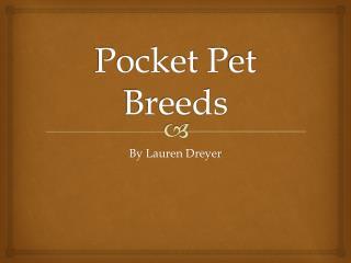 Pocket  P et Breeds