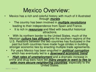 Mexico Overview: