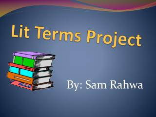 Lit Terms Project