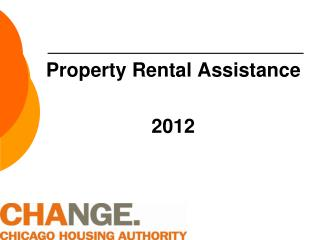 Property Rental Assistance  2012