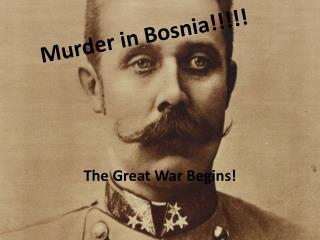 Murder in Bosnia!!!!!