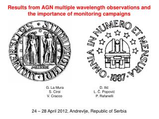 Results from AGN multiple wavelength observations  and the  importance  of monitoring  campaigns