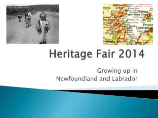 Heritage Fair 2014