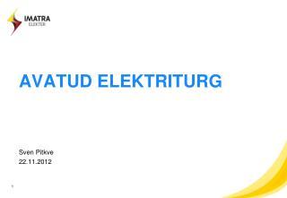 AVATUD ELEKTRITURG