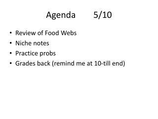 Agenda5/10