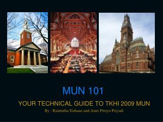 MUN 101