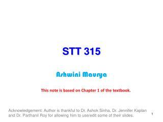 STT 315