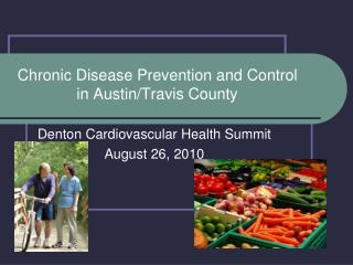 Chronic Disease Prevention and Control in AustinTravis County
