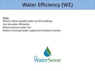 Water Efficiency (WE)