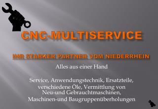 CNC-Multiservice Ihr starker Partner vom Niederrhein