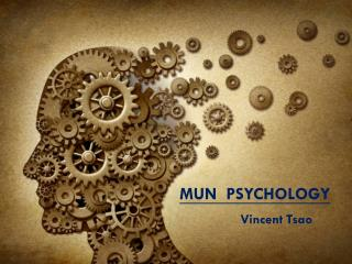 MUN  PSYCHOLOGY