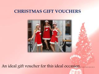 Christmas Gift Certificates Sydney