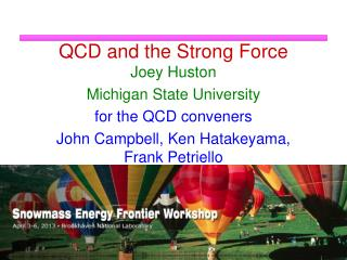 QCD and the Strong Force