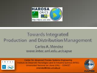 Towards Integrated  Production  and Distribution  Management