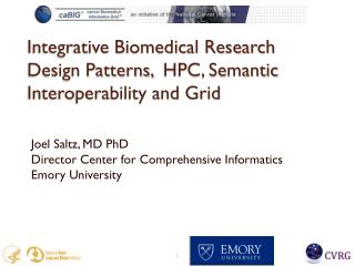 Integrative Biomedical Research Design Patterns,  HPC, Semantic Interoperability and Grid