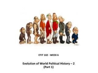 ETIT 102 - WEEK  6