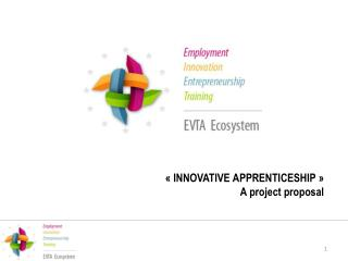 « INNOVATIVE  APPRENTICESHIP » A project  proposal