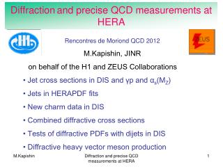 Diffraction and precise QCD measurements at HERA
