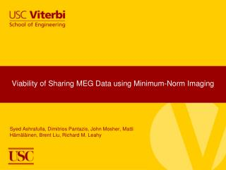 Viability of Sharing MEG Data using Minimum-Norm Imaging