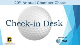 20 th  Annual Chamber Chase