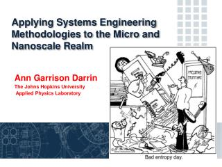 Applying Systems Engineering Methodologies to the Micro and Nanoscale Realm