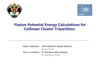 Fission Potential Energy Calculations for Collinear Cluster  Tripartition