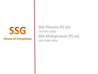 SSG  Group of Companies