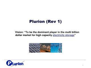 Plurion  (Rev 1)