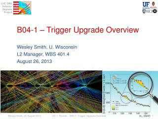 B04-1 – Trigger Upgrade  Overview