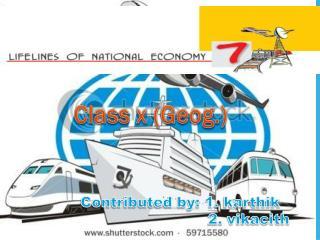 Class x (Geog.)