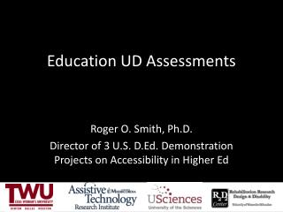 Education UD Assessments