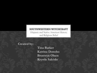 Southwestern witchcraft