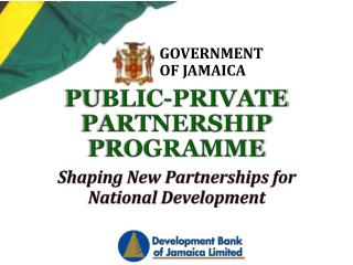 PUBLIC-PRIVATE PARTNERSHIP PROGRAMME