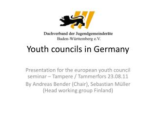 Youth councils in Germany