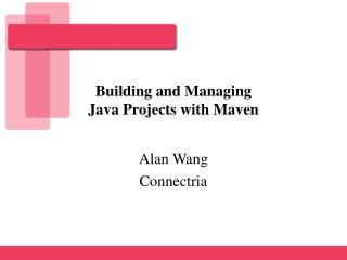 Building and Managing  Java Projects with Maven