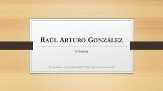 Raúl  Arturo González